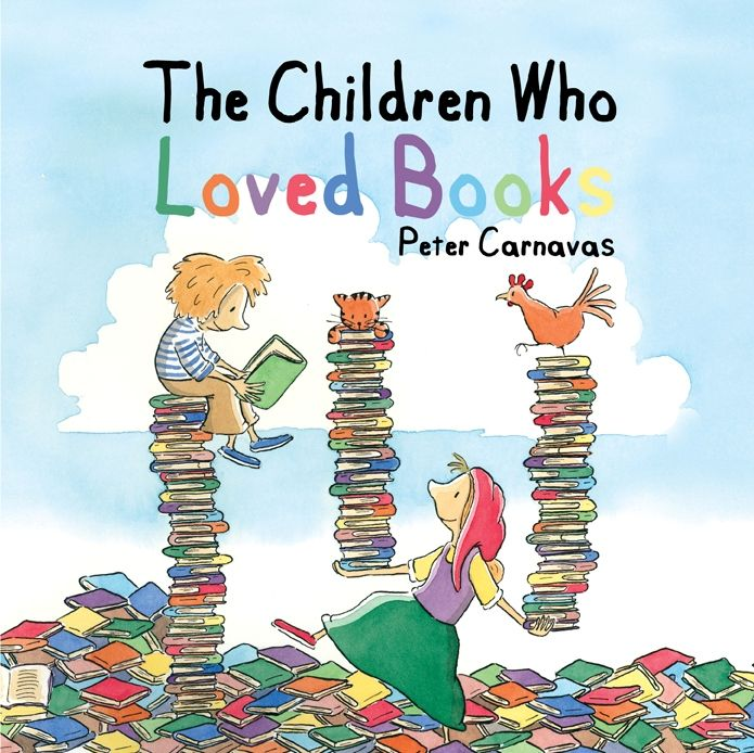 Children S Book Covers Alan Powers : The children who loved books peter carnavas