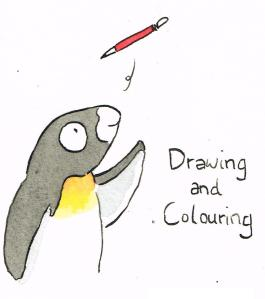 Drawing and colouring