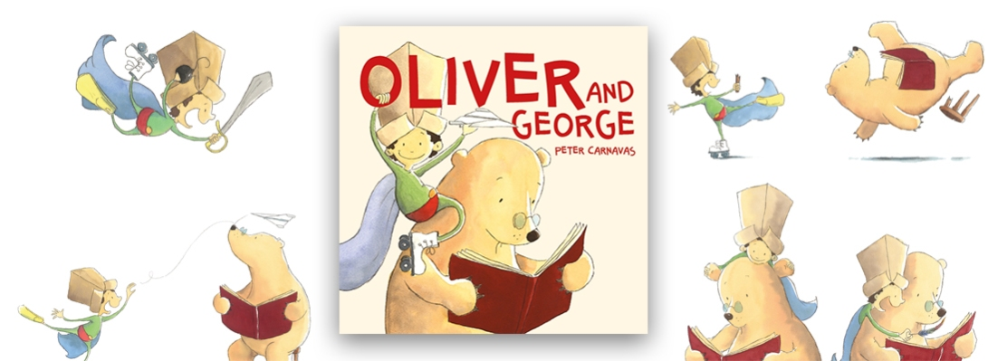 Oliver and George heading