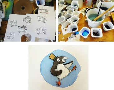 Creating penguin
