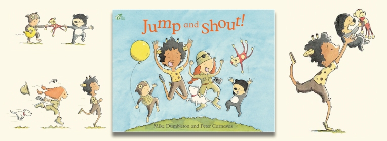 Jump and Shout heading