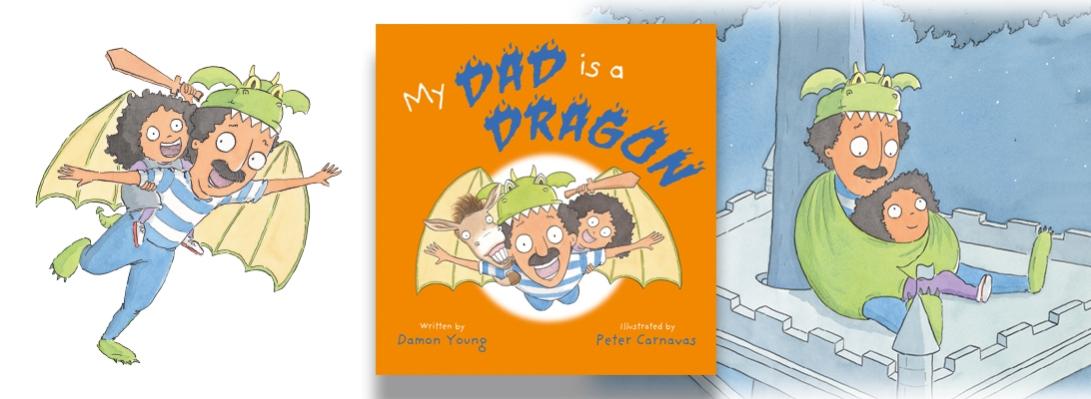 My Dad Dragon web header